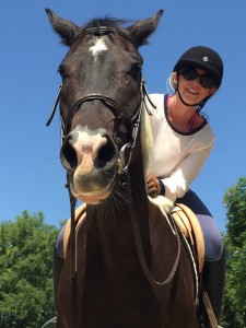 overcome fear of riding horses