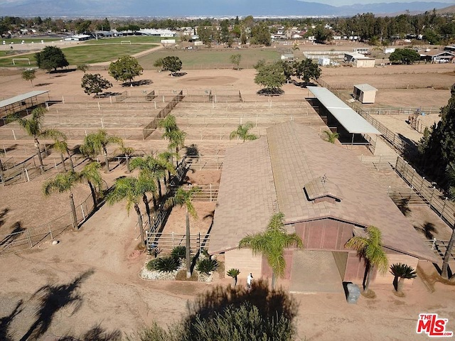 best horse town, full stable at this house for sale in Norco with large barn, turn out pens, and stalls